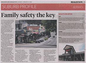 Herald Sun Suburban Profile - Berwick